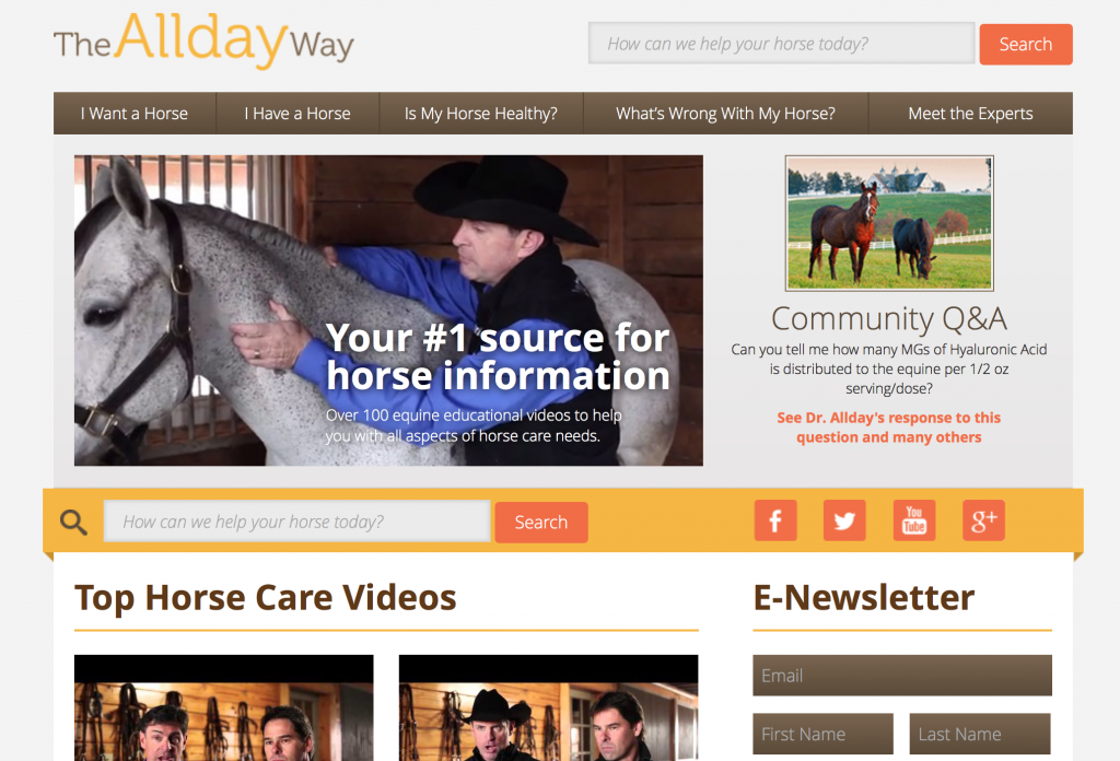 AlldayWay website